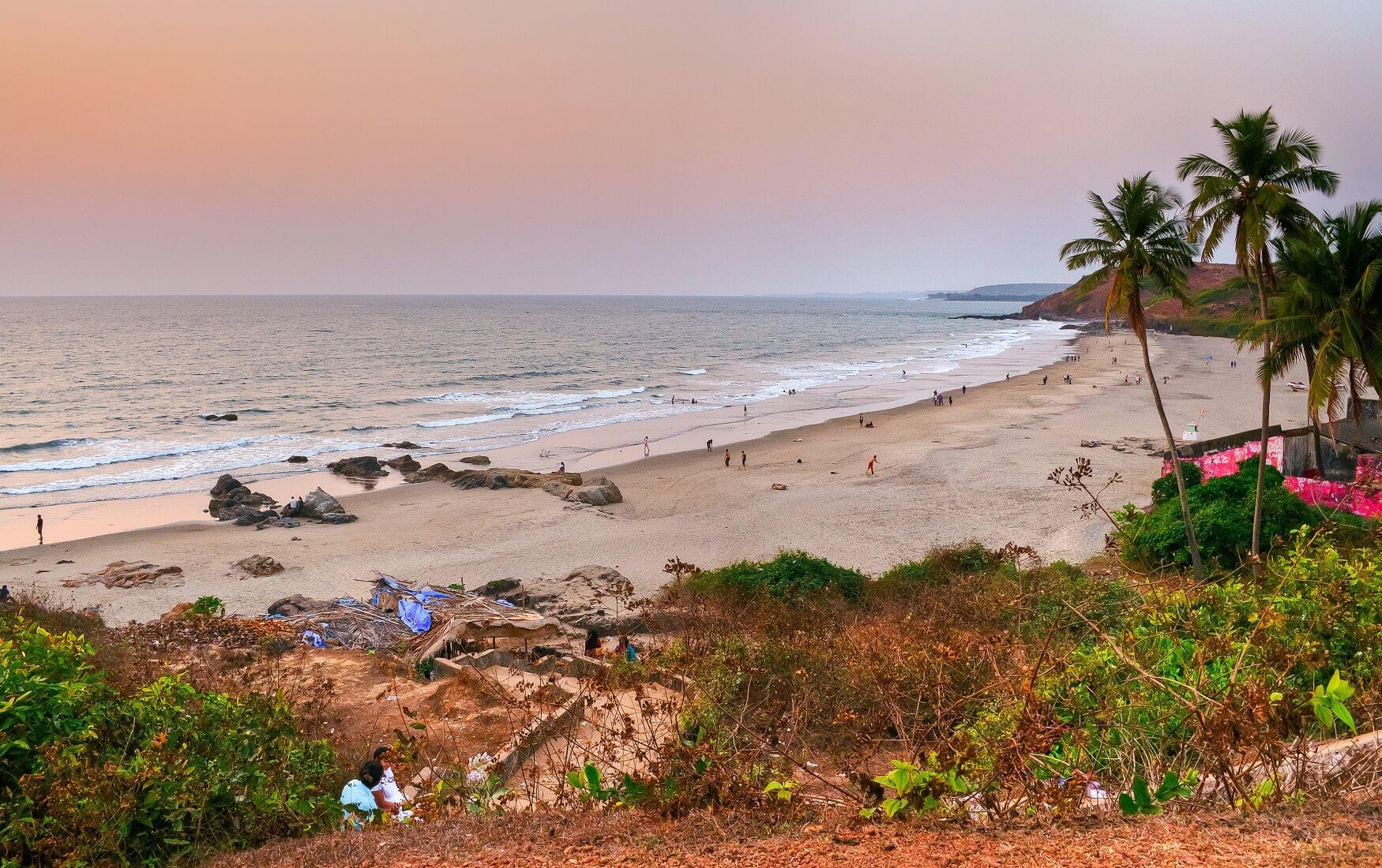 пляж Большой Вагатор