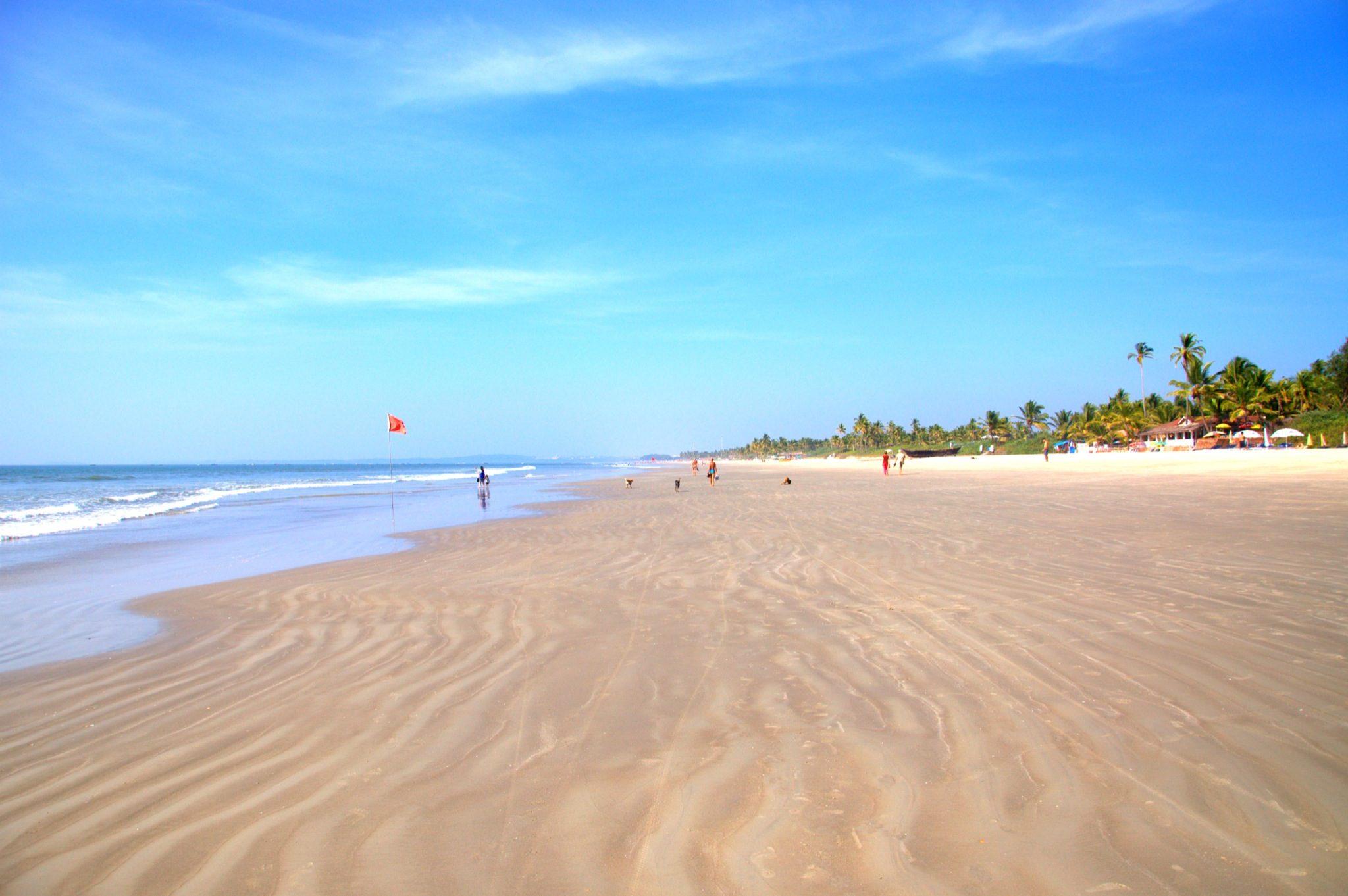Колва Гоа Индия пляж