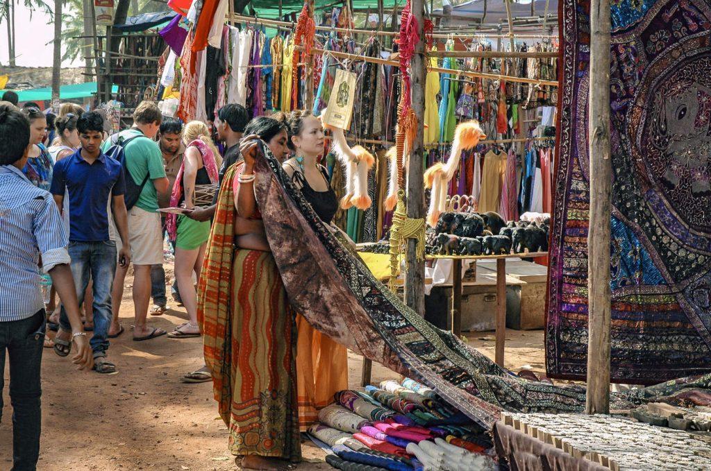 Рынок в Анджуне Гоа