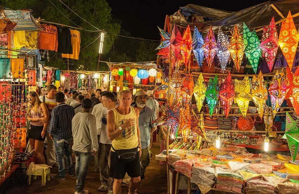 Рынок в Арпоре Гоа