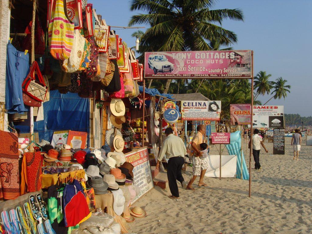 Рынок в Кавелоссим Южный Гоа