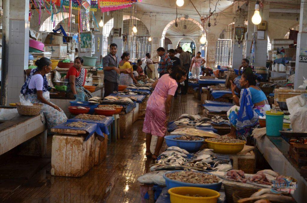 Рынок в Маргао Гоа