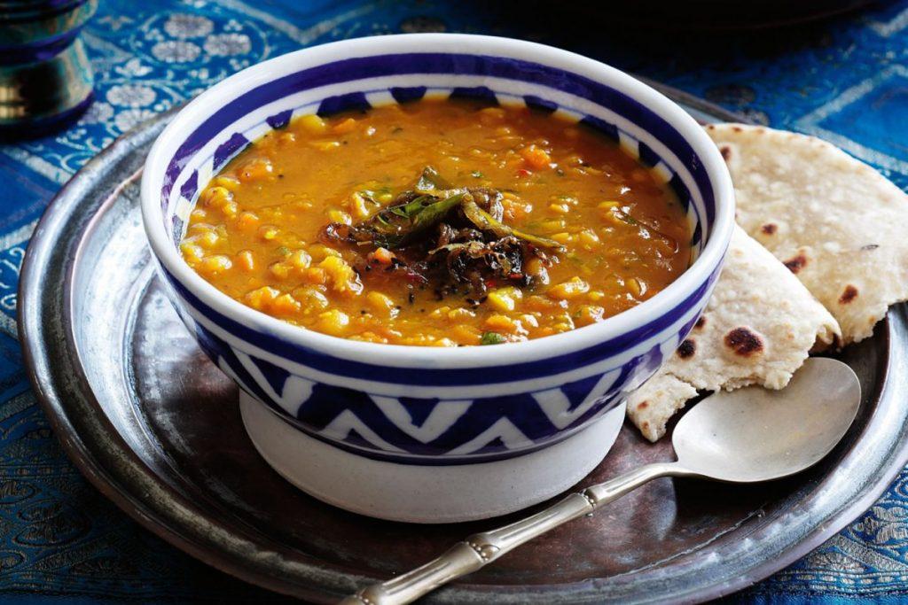 суп дал Гоа Индия что попробовать