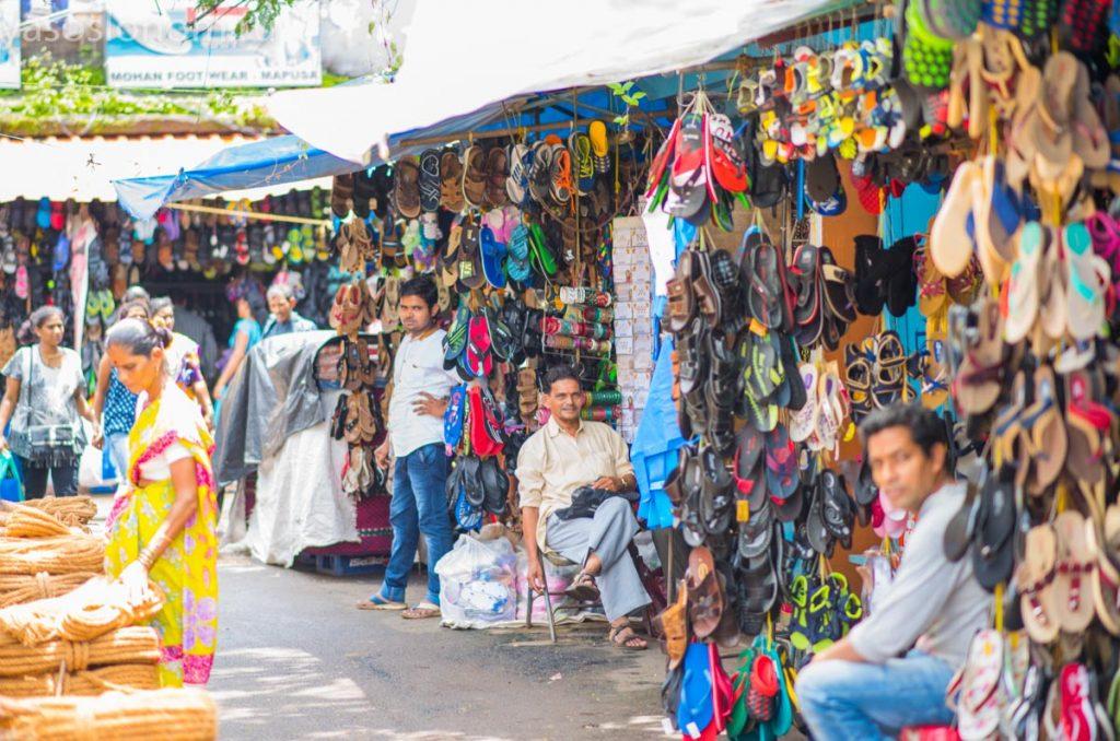 Рынок в Гоа